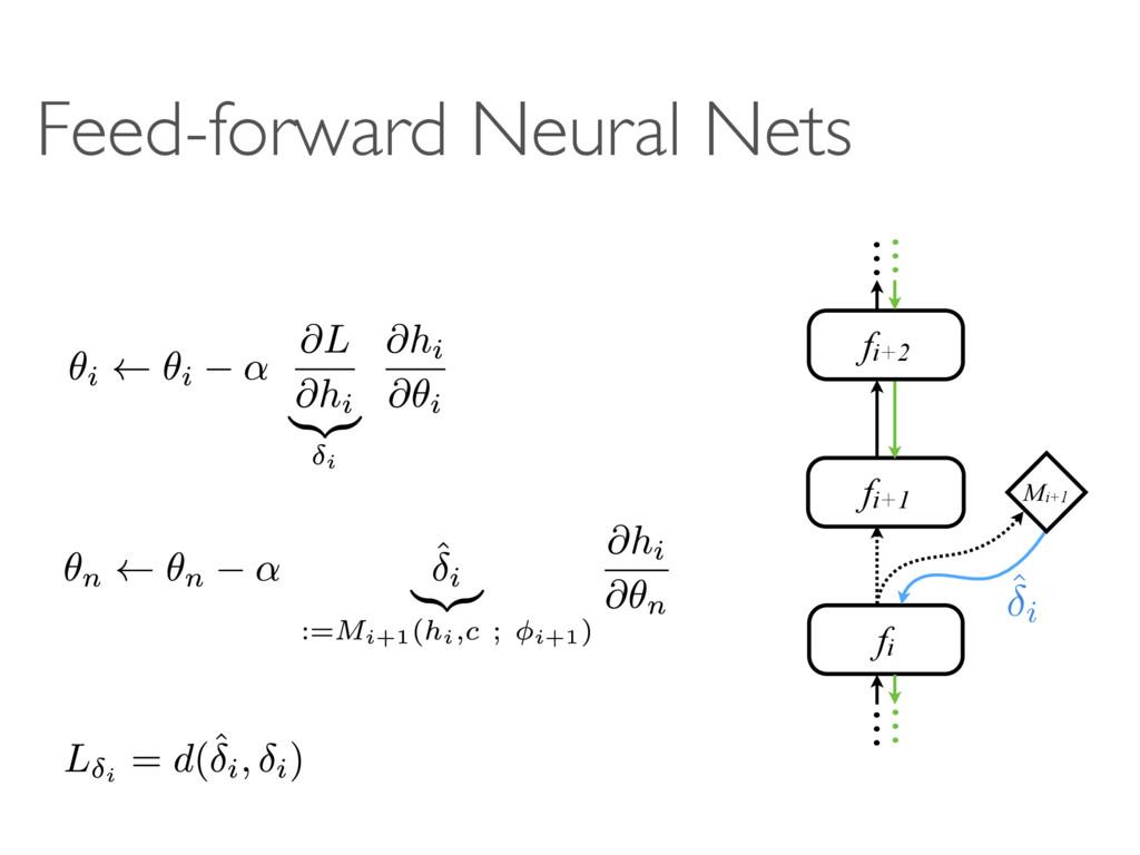 Feed-forward Neural Nets A A B A SB B c MB fi f...