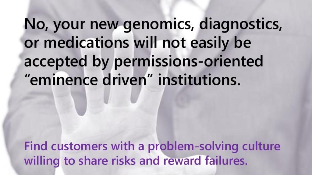 www.netspective.com 15 No, your new genomics, d...