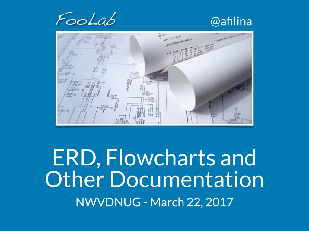 @afilina ERD, Flowcharts and Other Documentation...