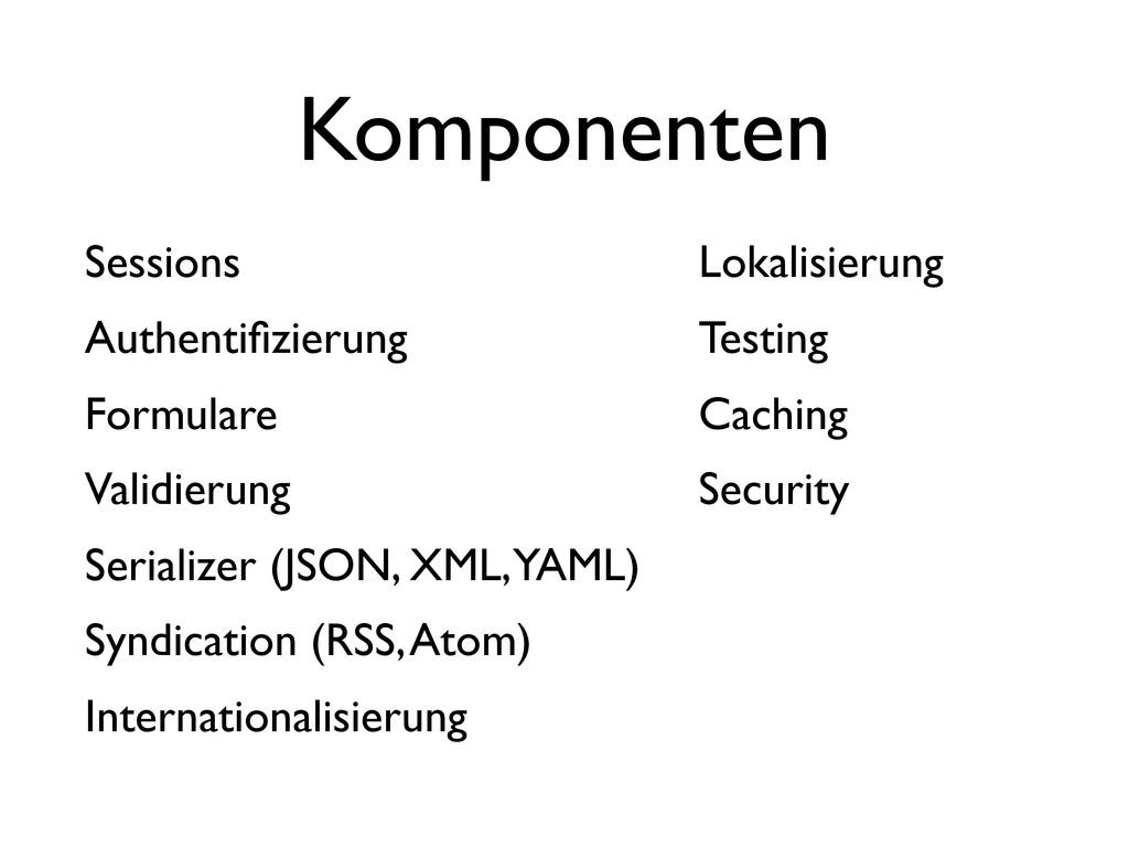 Sessions Authentifizierung Formulare Validierung...