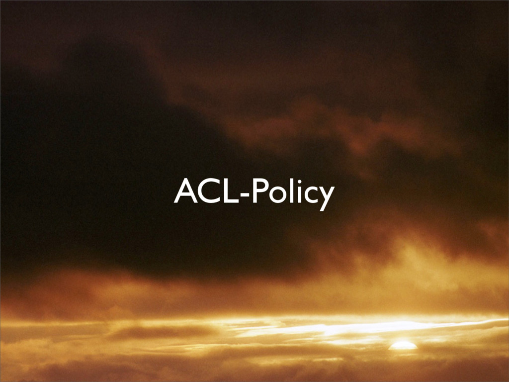 ACL-Policy