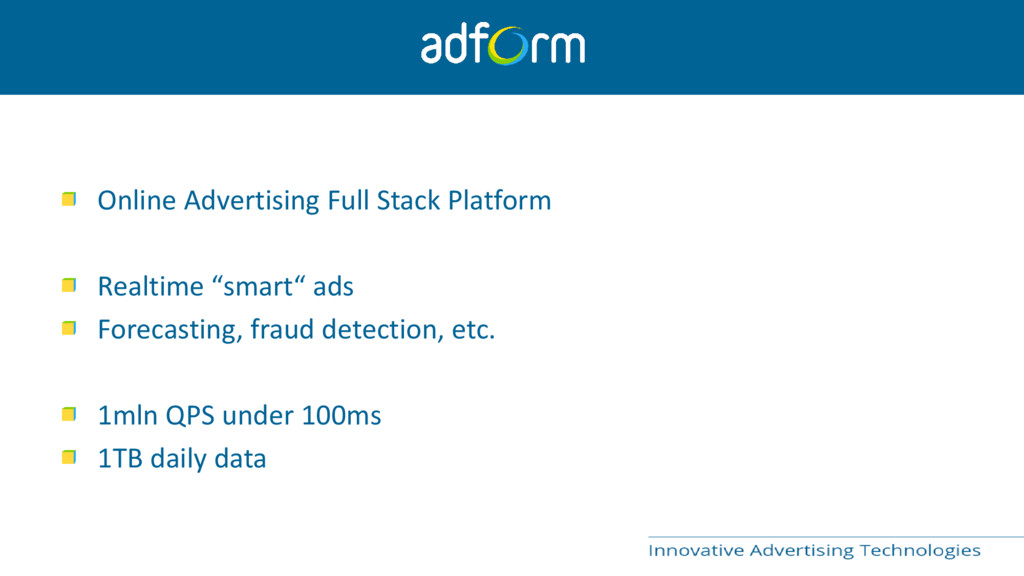 Online Advertising Full Stack Platform Realtime...