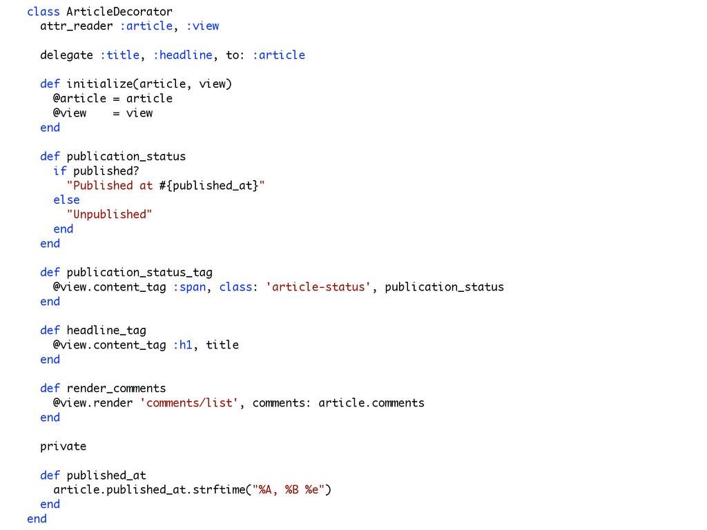 class ArticleDecorator attr_reader :article, :v...