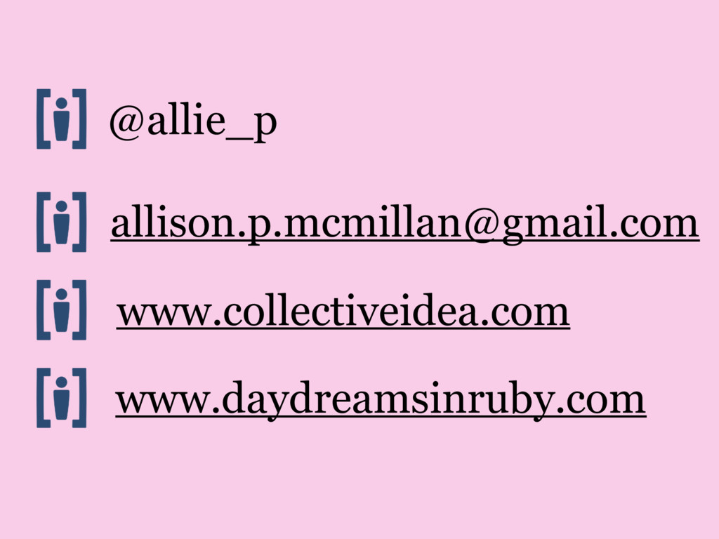 @allie_p allison.p.mcmillan@gmail.com www.colle...