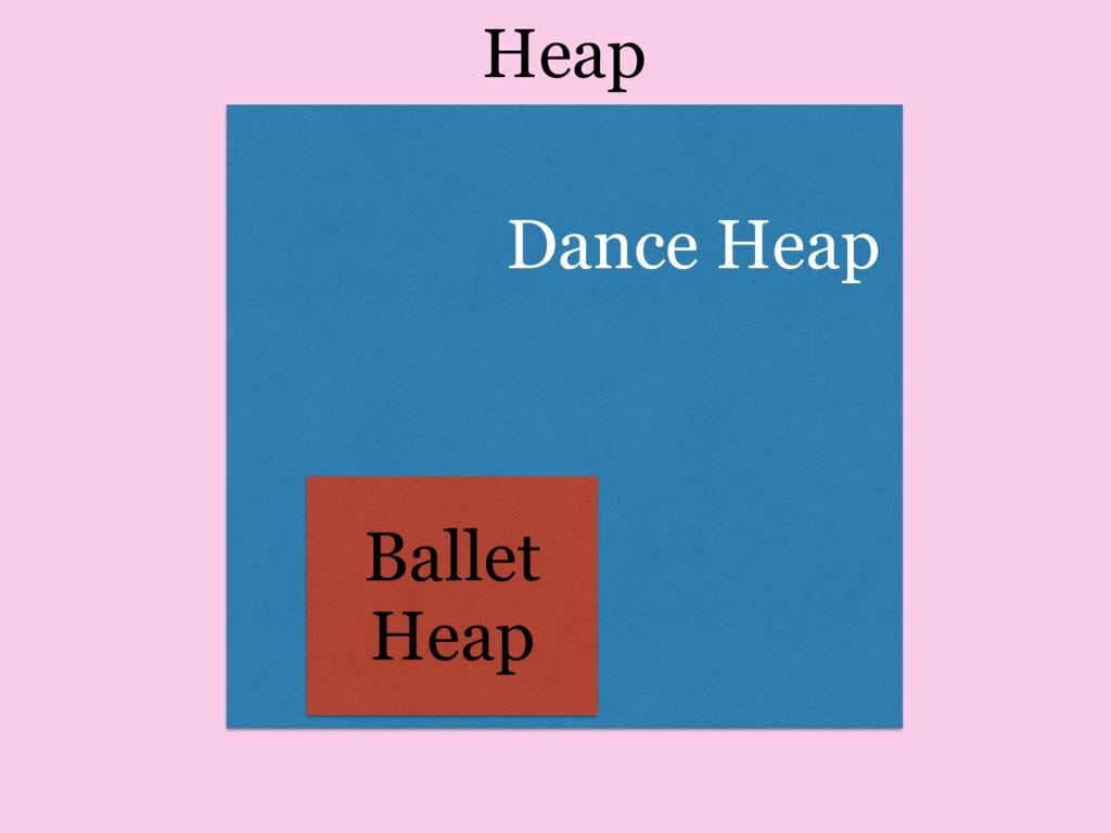 Heap Dance Heap Ballet Heap