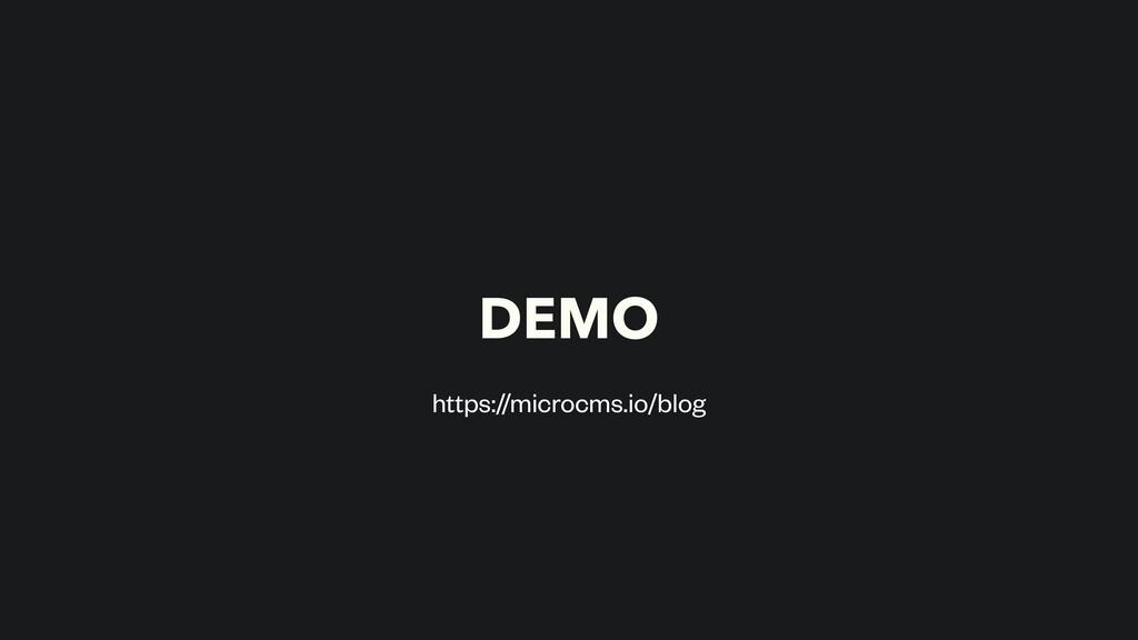 DEMO https://microcms.io/blog