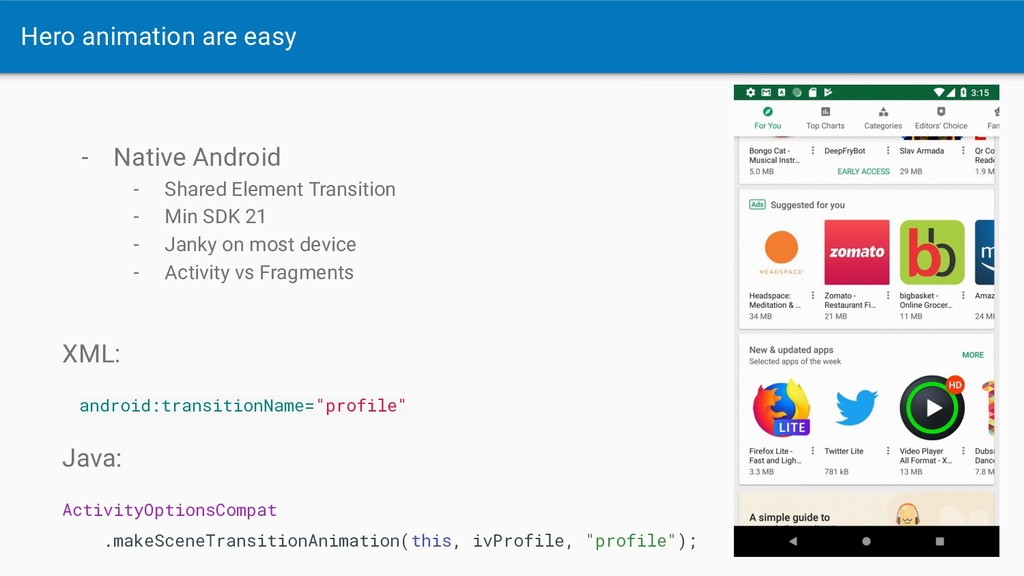 - Native Android - Shared Element Transition - ...