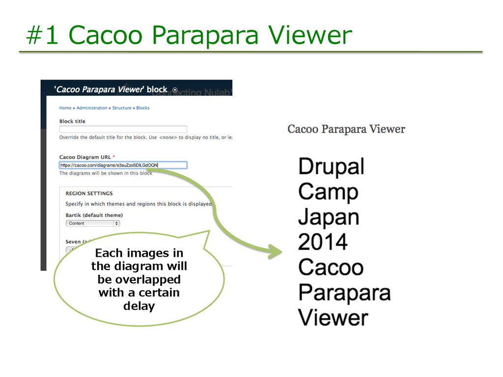 #1  Cacoo  Parapara  Viewer Each  images  in   ...