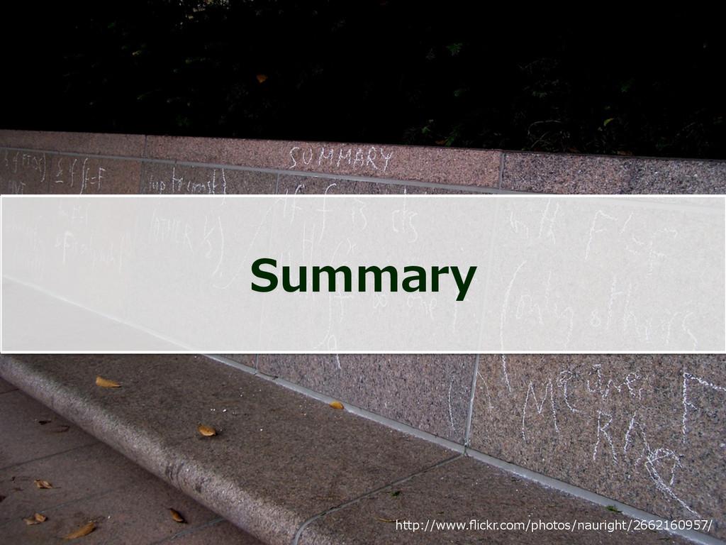 Summary http://www.flickr.com/photos/nauright/26...