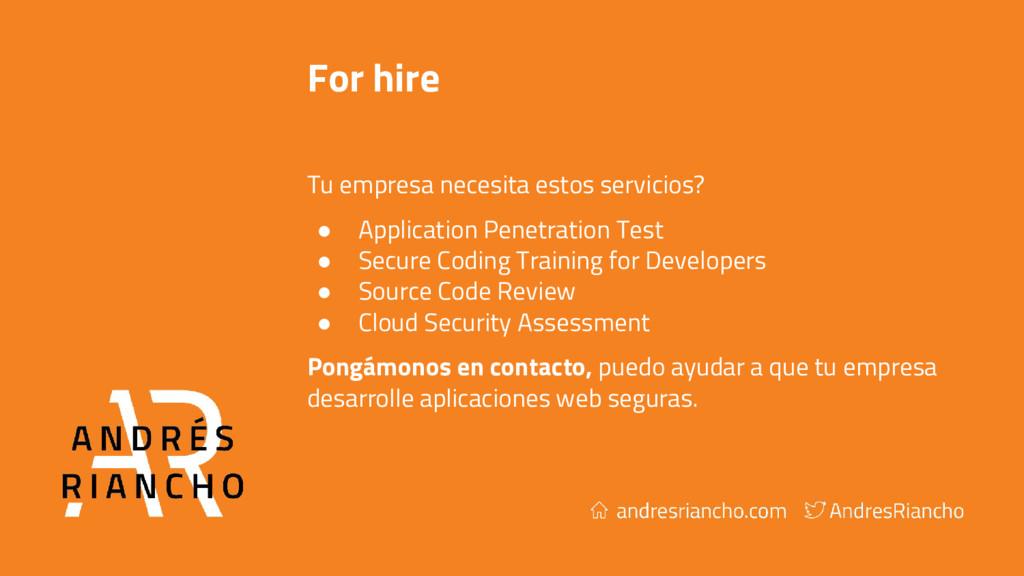 For hire Tu empresa necesita estos servicios? ●...