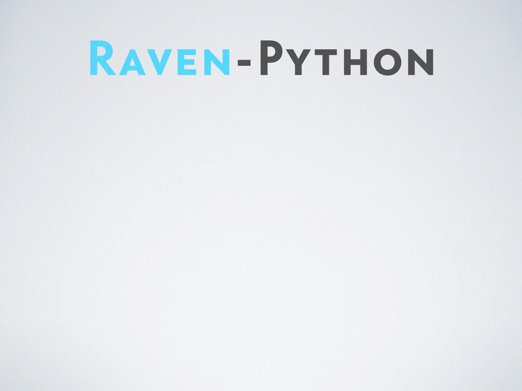 Raven-Python
