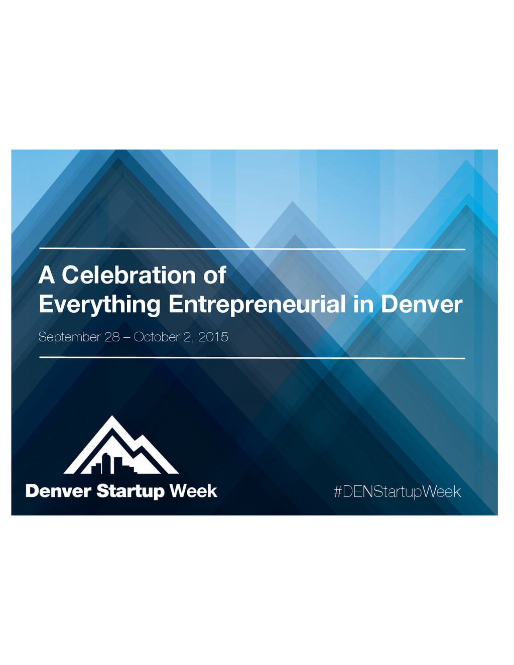 A Celebration of