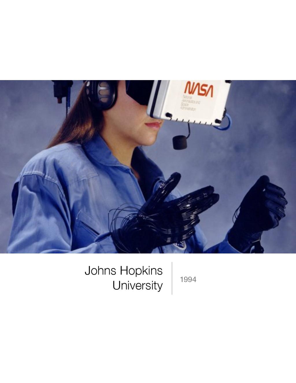 Johns Hopkins University 1994