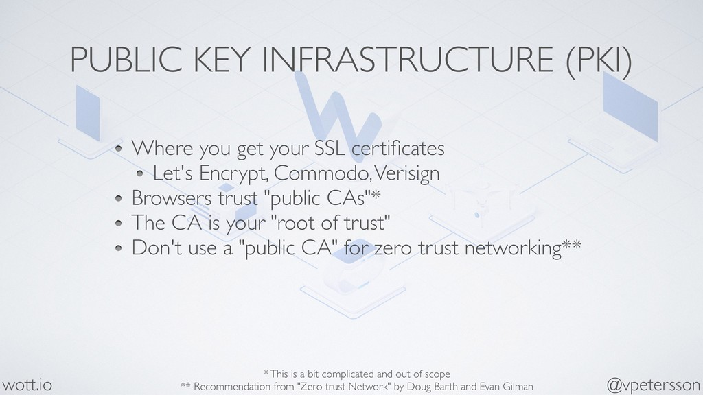 PUBLIC KEY INFRASTRUCTURE (PKI) Where you get y...