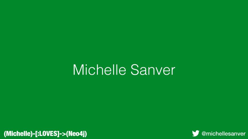 (Michelle)-[:LOVES]->(Neo4j) @michellesanver Mi...