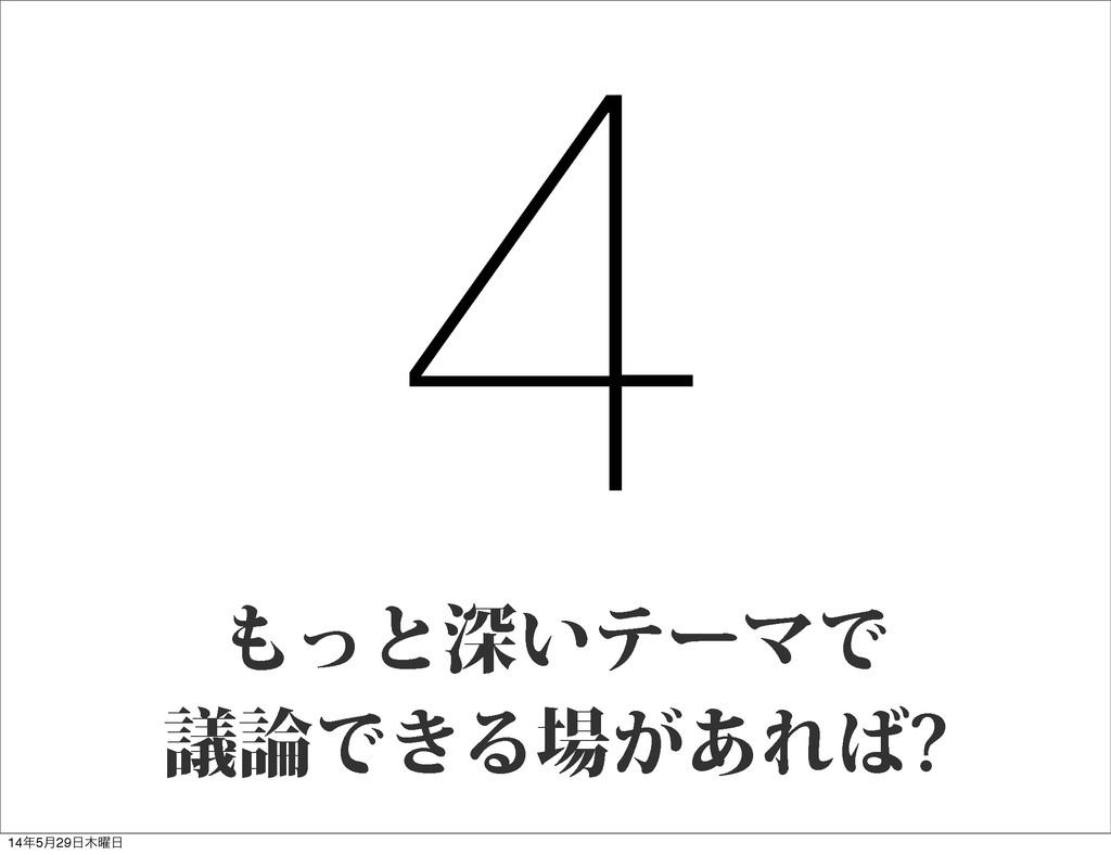 4 ͬͱਂ͍ςʔϚͰ ٞͰ͖Δ͕͋Ε 145݄29༵
