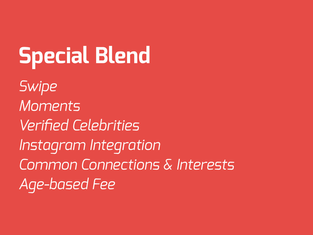 Special Blend Swipe Moments Verified Celebrities...