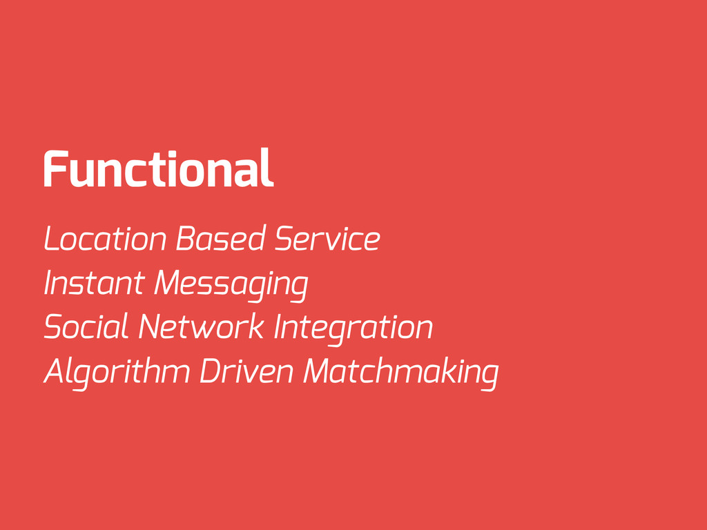 Functional Location Based Service Instant Messa...