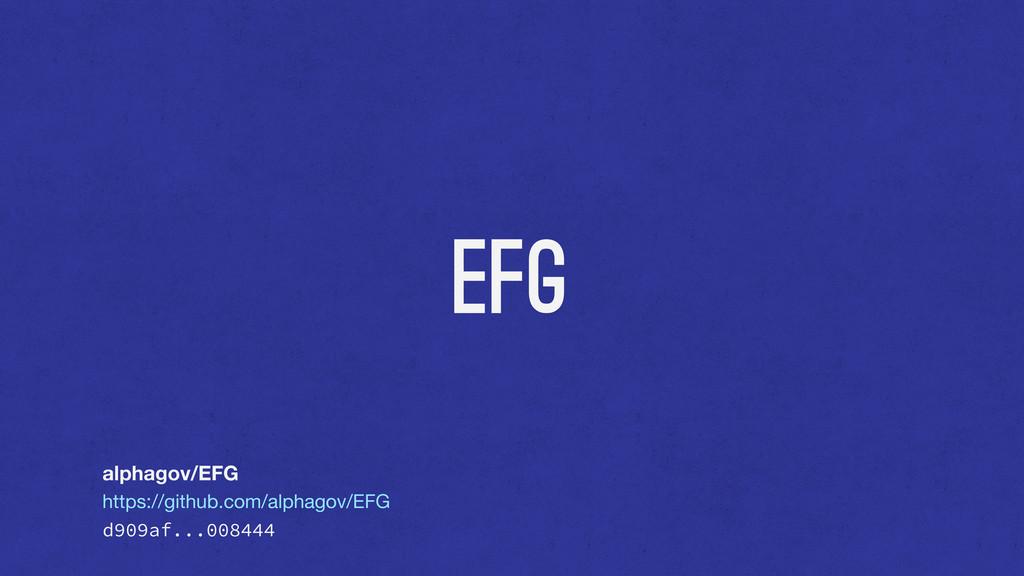 EFG alphagov/EFG https://github.com/alphagov/EF...