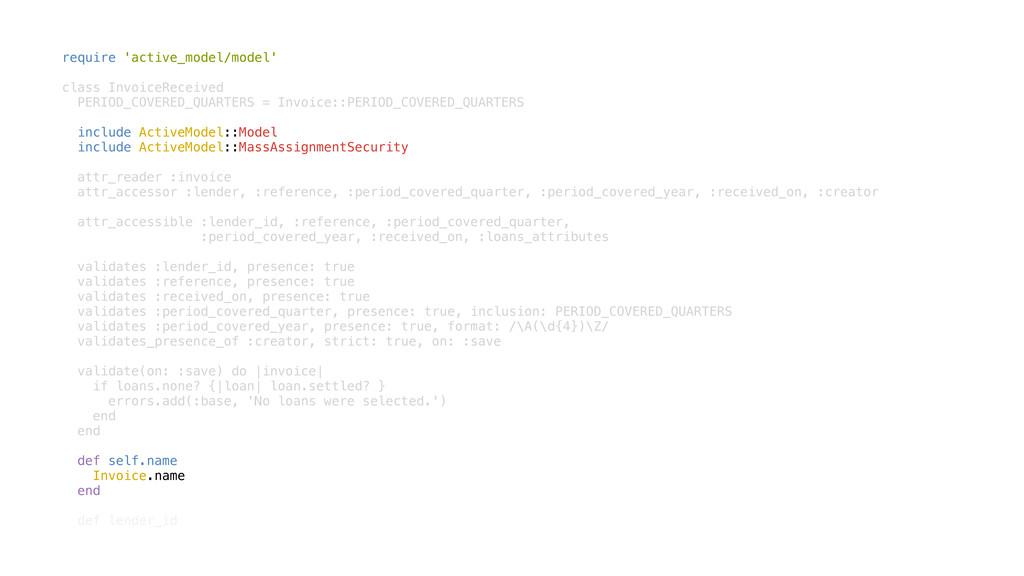 require 'active_model/model' class InvoiceRecei...