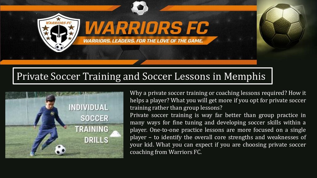 Why a private soccer training or coaching lesso...