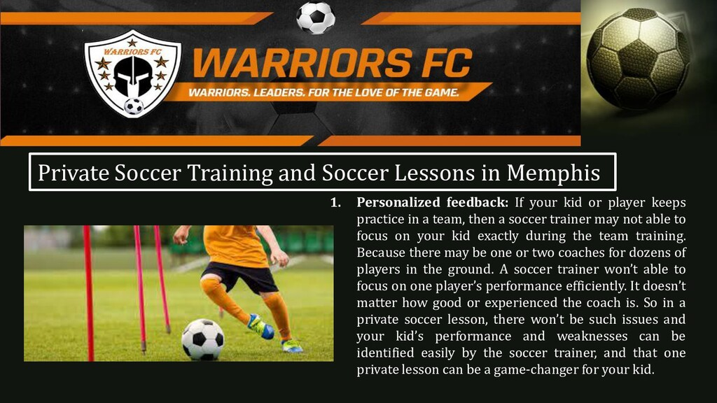 1. Personalized feedback: If your kid or player...
