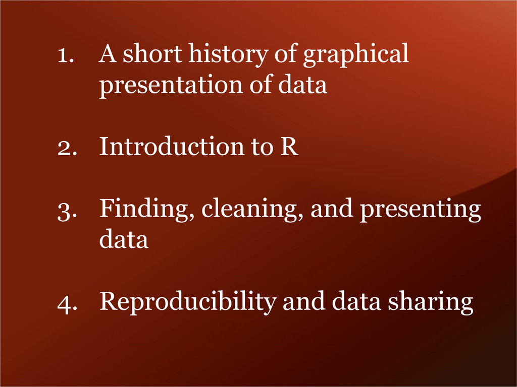 1. A short history of graphical presentation of...