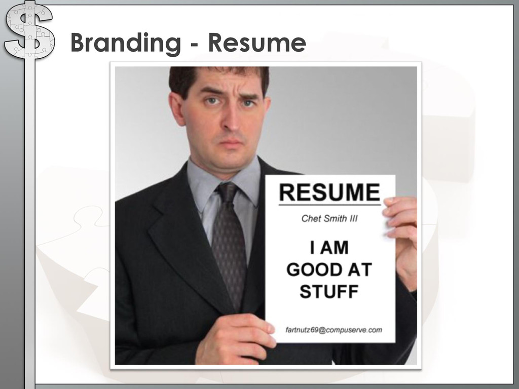 Branding - Resume