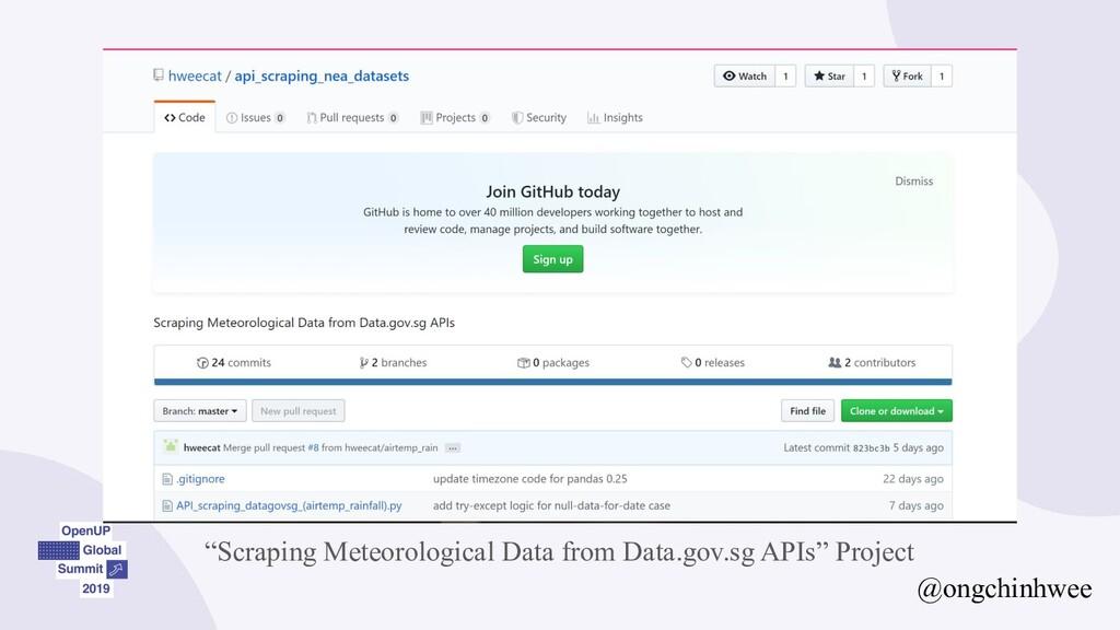 "@ongchinhwee ""Scraping Meteorological Data from..."