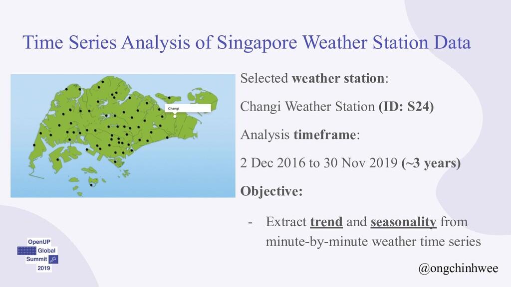Time Series Analysis of Singapore Weather Stati...