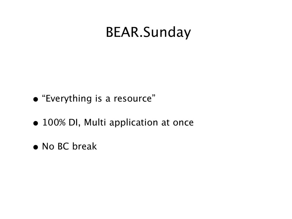 "BEAR.Sunday • ""Everything is a resource"" • 100%..."