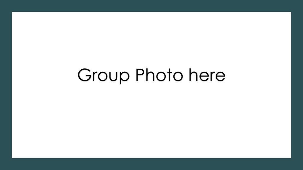 Group Photo here