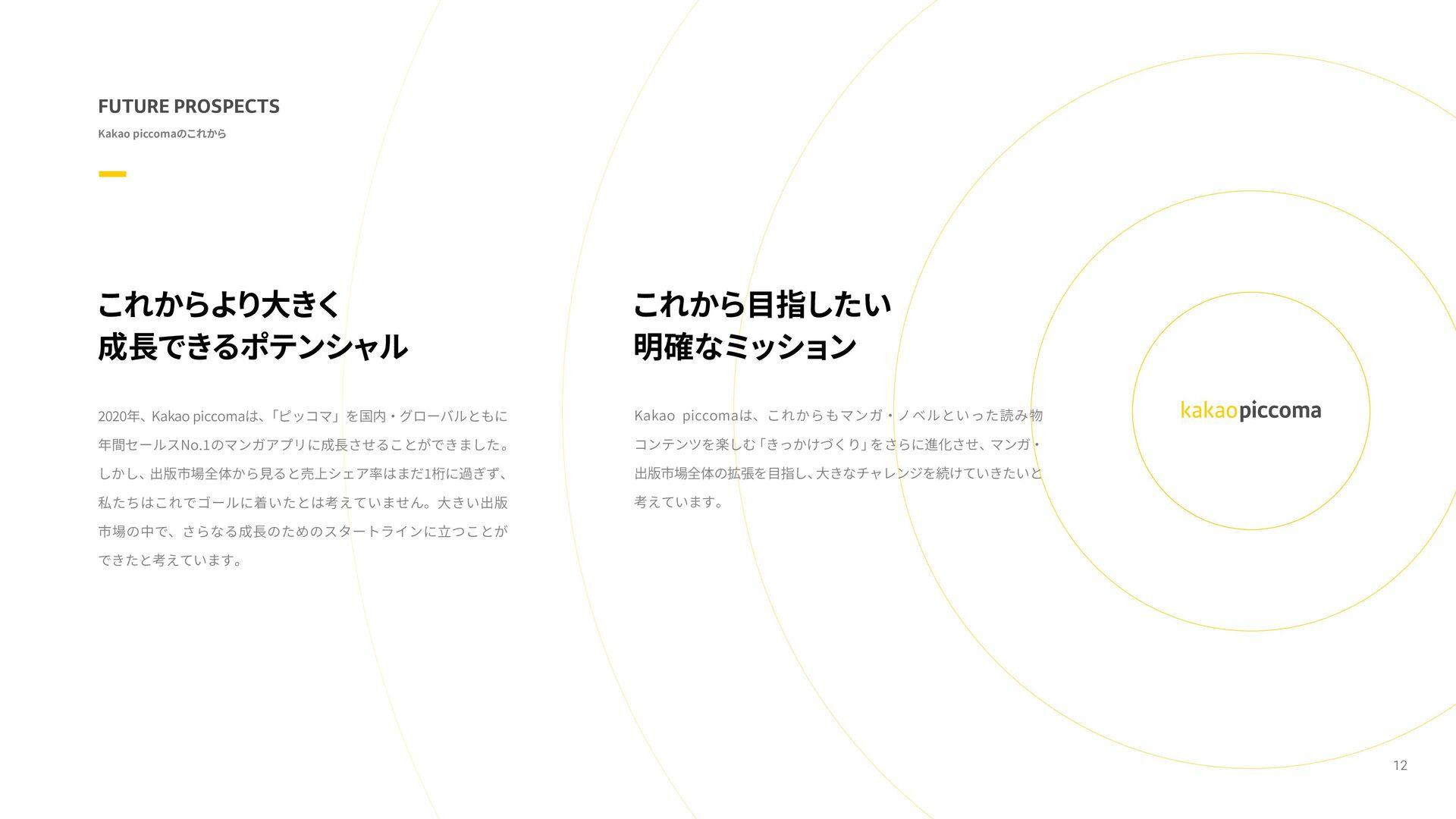 「Kakao Japan」ホームページ 「ピッコマ」WEBサイト 「ピッコマ」アプリダウンロー...