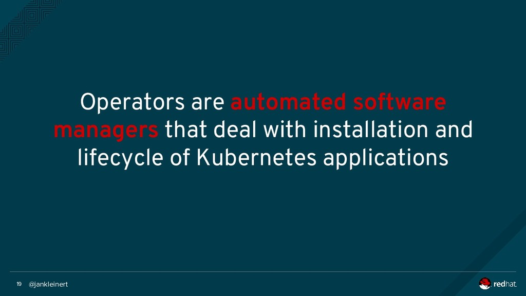 @jankleinert 19 Operators are automated softwar...