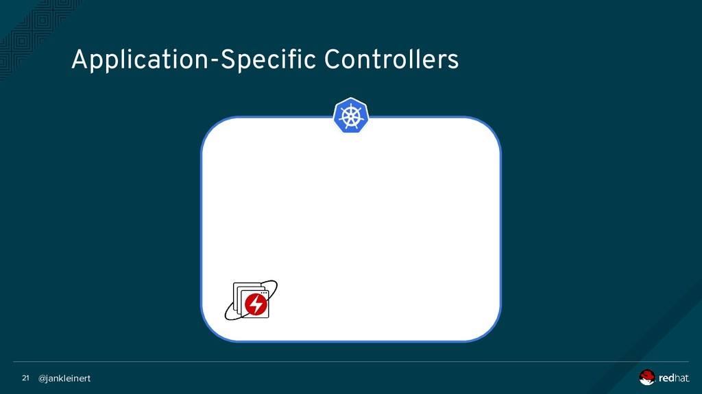 @jankleinert 21 Application-Specific Controllers