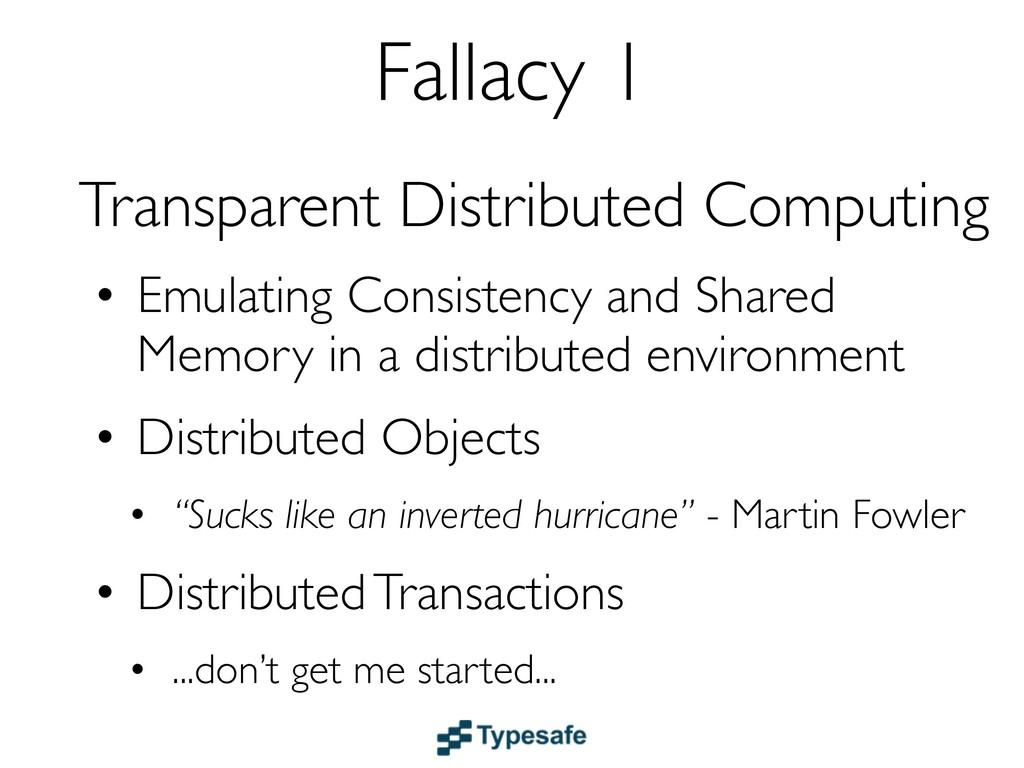 Transparent Distributed Computing • Emulating C...