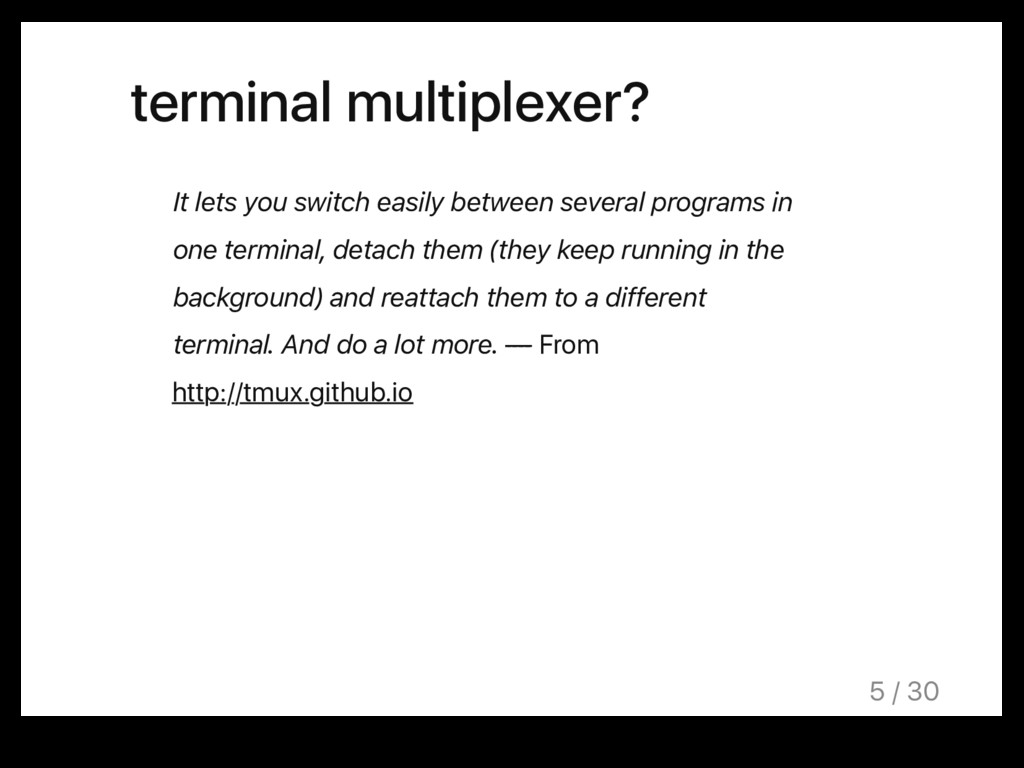 terminal multiplexer? It lets you switch easily...