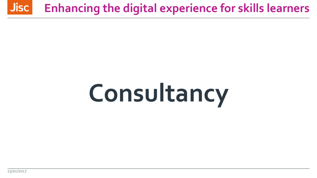 Enhancing the digital experience for skills lea...