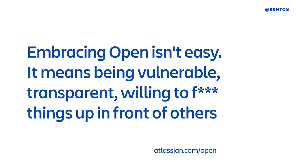 @SRHTCN Embracing Open isn't easy. 