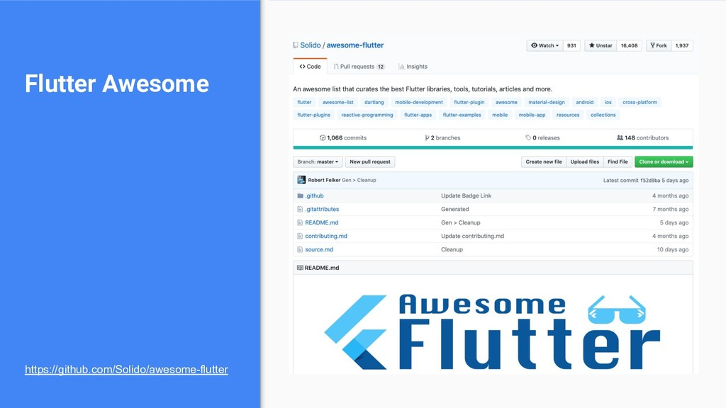 Flutter Awesome https://github.com/Solido/aweso...