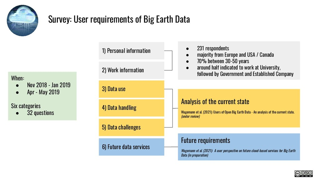 Survey: User requirements of Big Earth Data Whe...