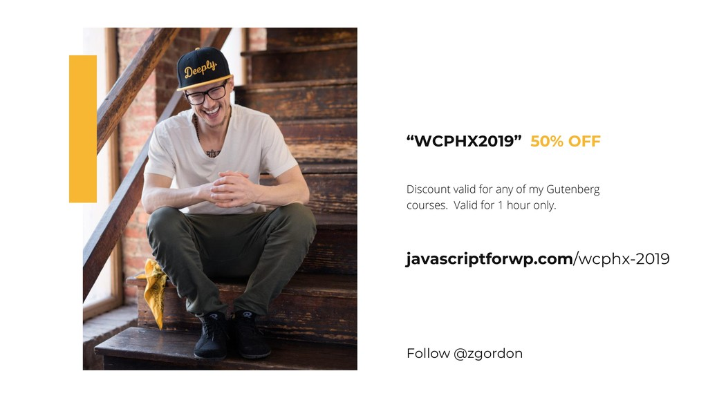 """WCPHX2019"" 50% OFF Discount valid for any of m..."