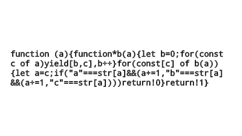 function (a){function*b(a){let b=0;for(const c ...