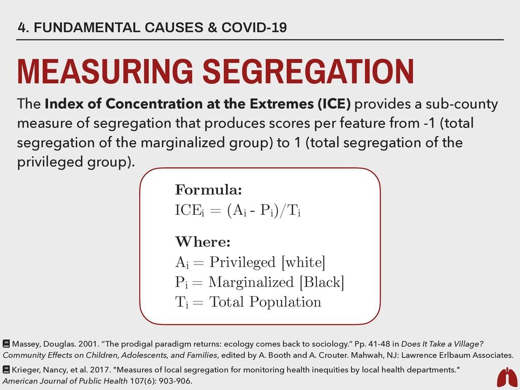 4. FUNDAMENTAL CAUSES & COVID-19 MEASURING SEGR...