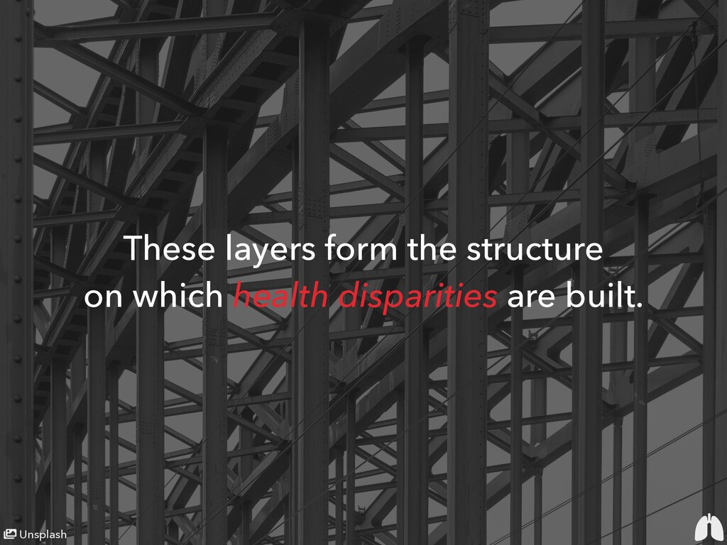 These layers form the structure on which health...