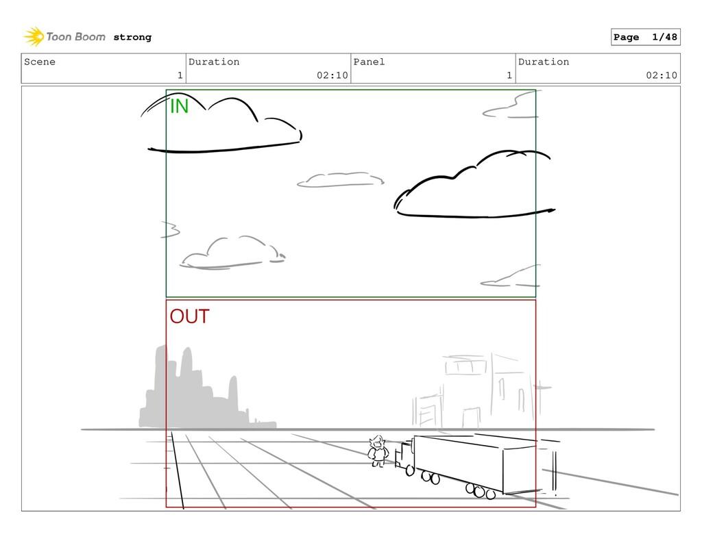 Scene 1 Duration 02:10 Panel 1 Duration 02:10 s...