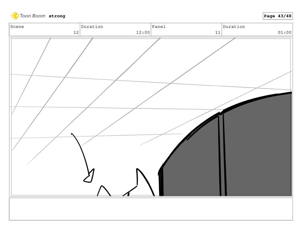 Scene 12 Duration 12:00 Panel 11 Duration 01:00...