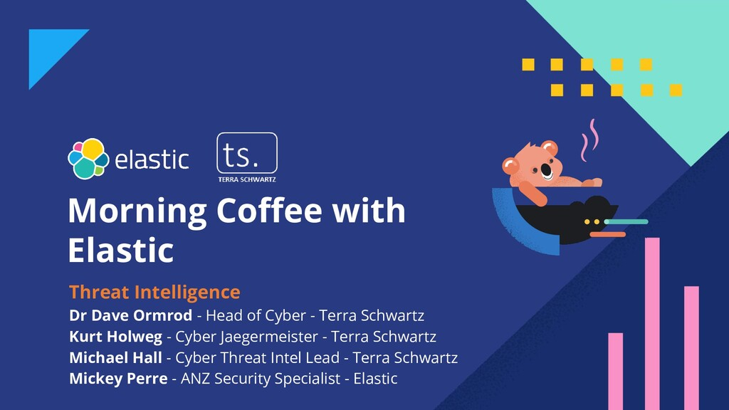 Morning Coffee with Elastic Threat Intelligence ...