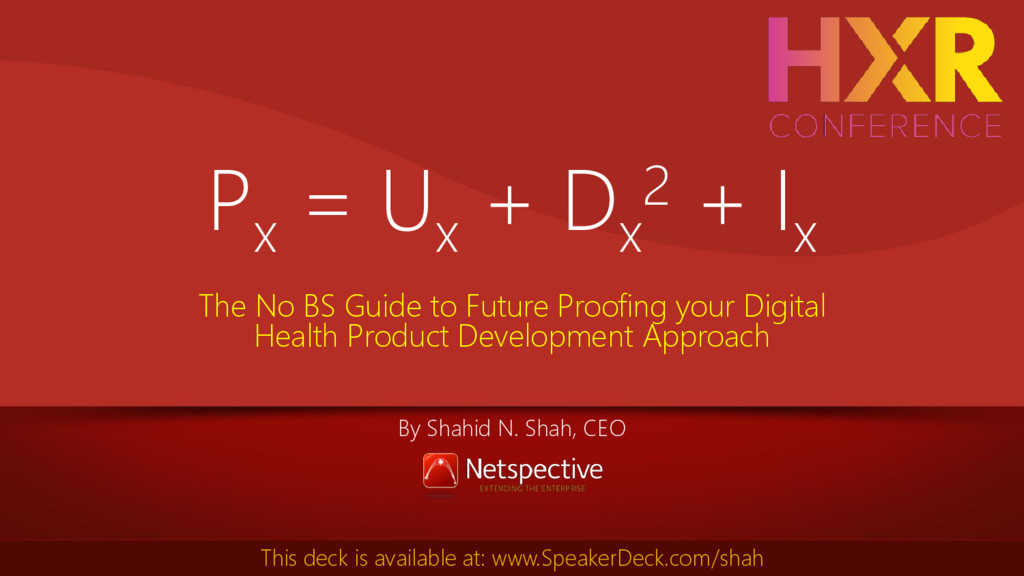 Px = Ux + Dx 2 + Ix The No BS Guide to Future P...