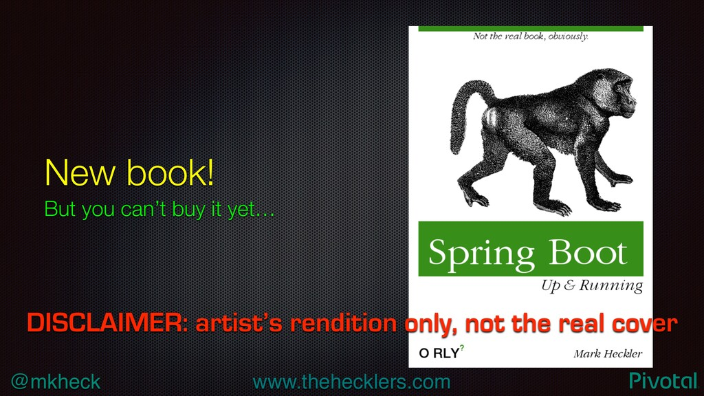 @mkheck www.thehecklers.com New book! But you c...
